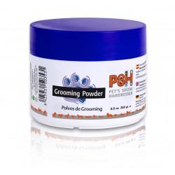 White Grooming Powder